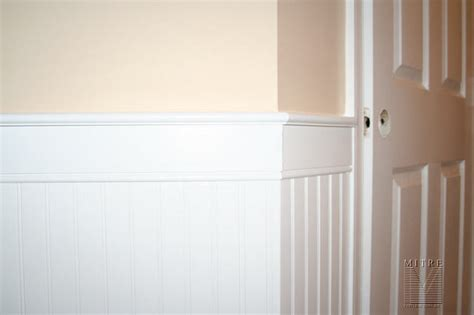 wainscoting chair rail beadboard wainscot chair rail