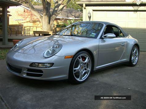 2007 Porsche 911 Carrera 4s Convertible 2 Door 3 8l