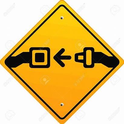 Safety Seat Clipart Fasten Belts Signs Seatbelt