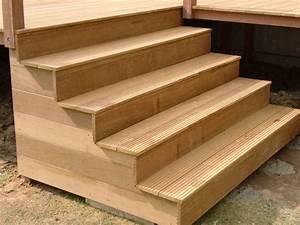 Treppenwangen Holz Aussen : treppe terrasse design ~ Articles-book.com Haus und Dekorationen