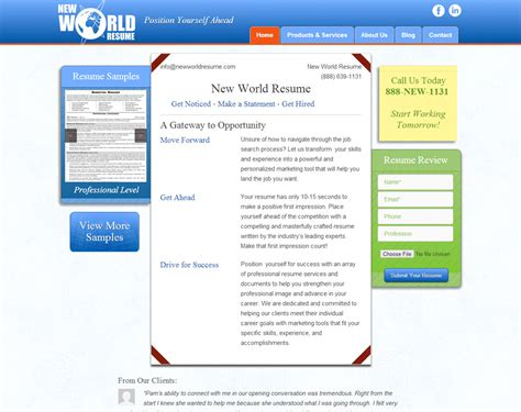 professional resume writing services rhode island