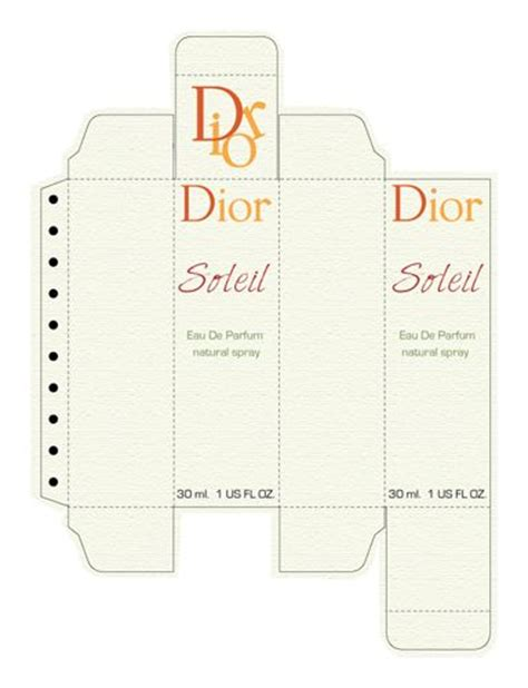 Perfume Box Template  For Mini Perfume  Pinterest Box