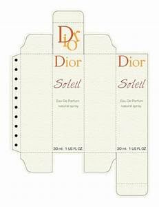 perfume layout and boxes on pinterest With cologne box template