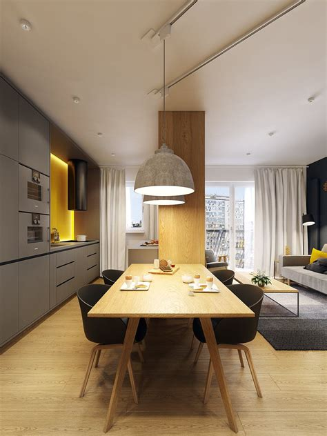 3 Takes On Modern Apartment Design by A Modern Scandinavian Inspired Apartment With Ingenius