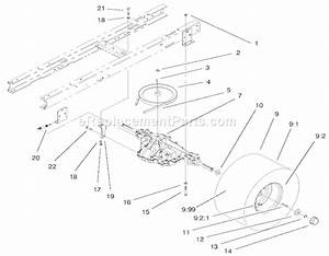 Toro 71226 Parts List And Diagram