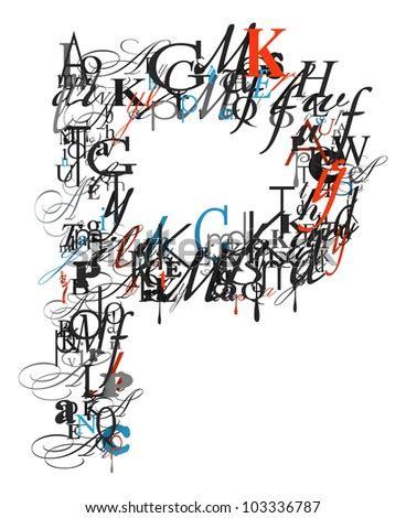 letter  alphabet  font letters stock