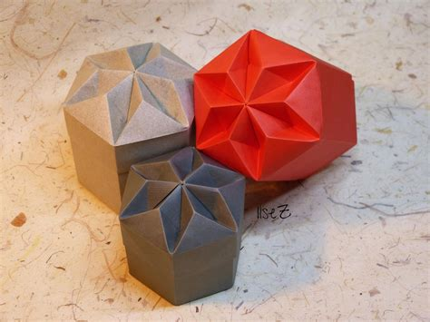 Fuse Box Tutorial by Hexagon Diamant Box By Tomoko Fuse Origami Box And