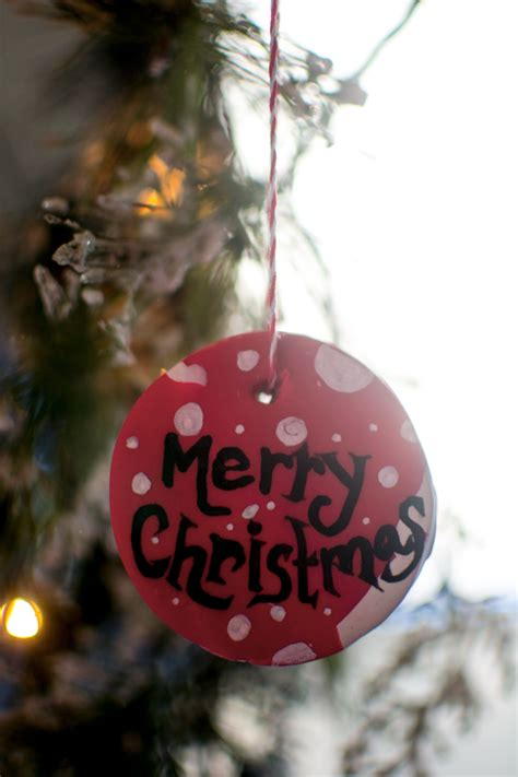 frugal holidays diy clay baked ornaments  inexpensive