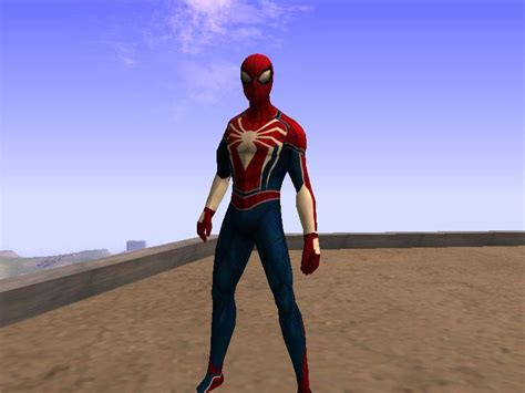 Gta San Andreas Spider-man Ps4 Skin (gta Sa) Mod