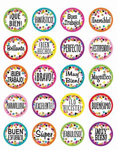 Stickers Spanish Confetti