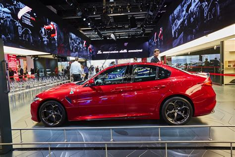 Alfa Romeo Giulia Qv, Now Fastest Sedan On 'ring, Lands In