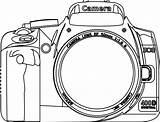 Camera Coloring Clipart Yearbook Clip Kamera Silhouette Shoot Google Dslr Colouring Books Border Line Fotografen Simple Drawing Popular Colouringbook Printable sketch template
