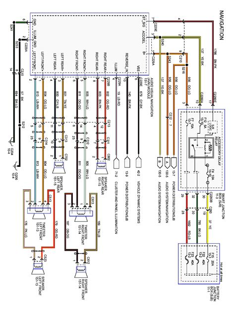 2004 Mustang Mach 1 Wiring Diagram by 1998 Ford Expedition Mach Audio Wiring Diagram Gallery