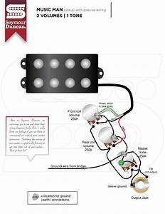 Seymour Duncan Smb Dpdt Switch Wired Coil Tapping Not