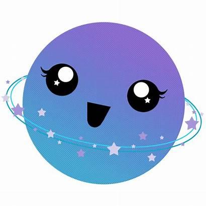 Planet Kawaii Clipart Transparent Webstockreview Kitschy