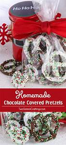 Homemade Chocolate Covered Pretzels - Two Sisters