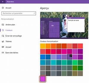 Changer Les Fenetres : changer la couleur des fen tres sous windows 10 fortimelp ~ Premium-room.com Idées de Décoration