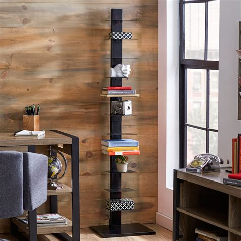 Tower Bookshelf by Top 10 Amazing Invisible Bookshelf For Your Rooms Review