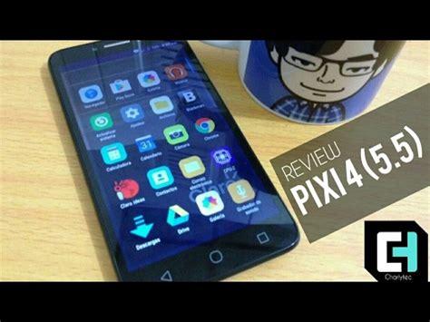 alcatel pixi 4 5 5 review en espa 241 ol pantalla hd a un precio