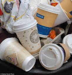 high street coffee chains trial  recyclable cup daily
