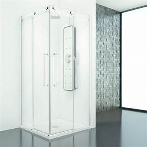 Paroi Douche Baignoire : paroi de baignoire et de douche avec panneaux coulissants profiltek ~ Farleysfitness.com Idées de Décoration