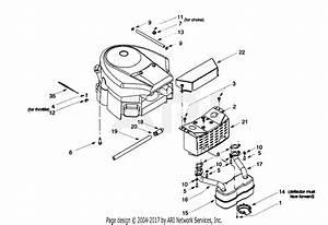 Troy Bilt 13az604h063  1999  Parts Diagram For Muffler