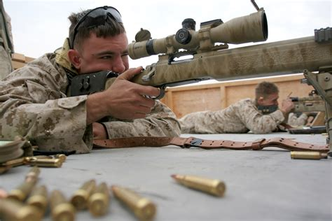 Marine Scout Snipers Scope Out New Tactics> 11th Marine