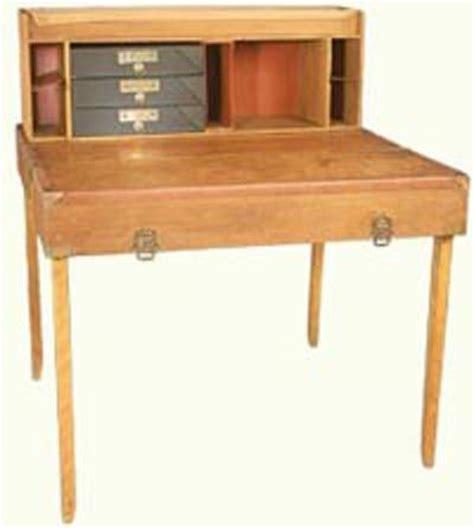 campaign desk plans  woodworking