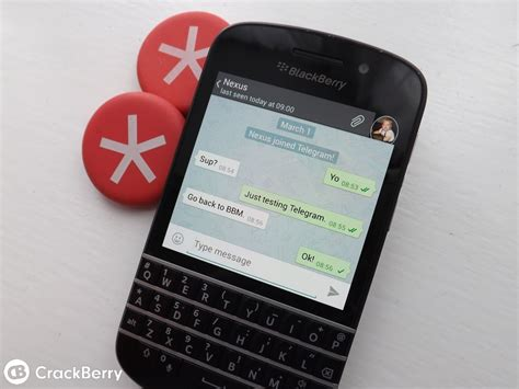 another cross platform im client hits blackberry 10 this time it s telegram crackberry