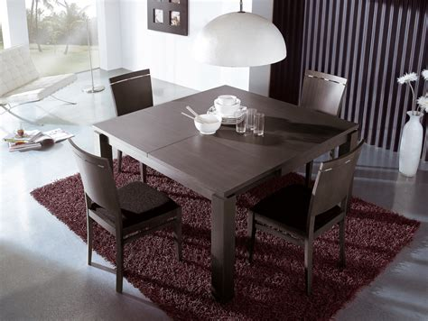 extendable dining room table  chairs square dining