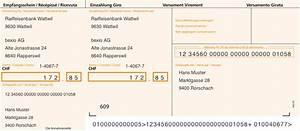 Rechnung Was Muss Drauf : einzahlungsschein online ausf llen und drucken bexio ~ Themetempest.com Abrechnung