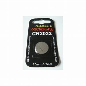 Pile Bouton Cr2032 : pile bouton cr2032 3v lithium ~ Melissatoandfro.com Idées de Décoration