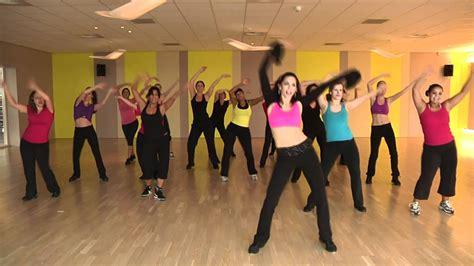 zumba fitness  denise latin zumba mix basic warm