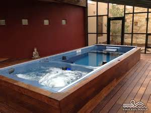 inspiring basement swimming pools photo how zen would you feel in this endless pool 174 swim spa