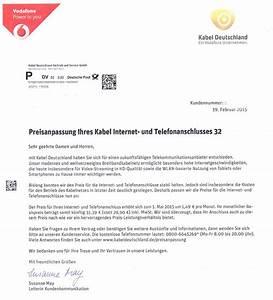 Mein Kabel Deutschland Rechnung : kabel deutschland preisanpassung um 4 98 sonderk ndigungsrecht patrick boschert it ~ Themetempest.com Abrechnung