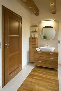 Waschtisch Aus Holz Fr Mehr Gemtlichkeit Im Bad