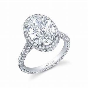 large diamond engagement rings With large diamond wedding rings