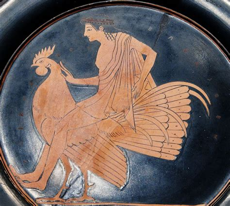 youth riding  rooster epiktetos simple english