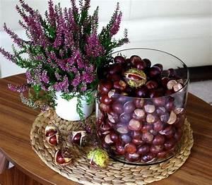 Herbstgestecke Selber Machen : d co table automne inspirations en 51 photos splendides ~ Frokenaadalensverden.com Haus und Dekorationen