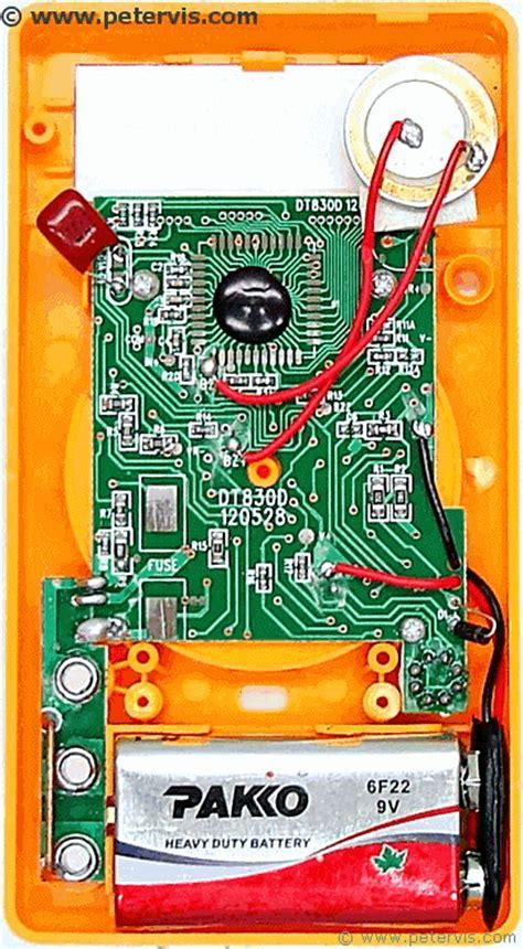 Dtd Digital Multimeter Repair Fuse
