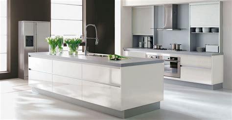 image cuisine blanche cuisine gris et blanche chaios com