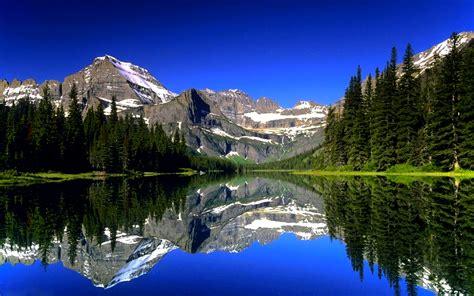 awesome mountain lake hd wallpaper hd wallpapers