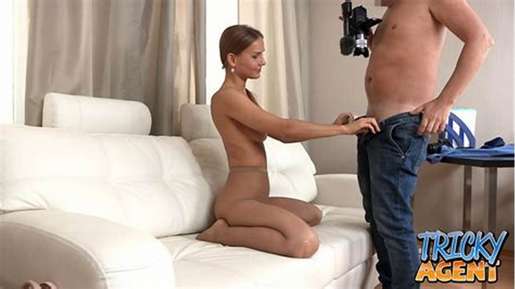 #Pretty #Russian #Model #Gets #Tested #By #Her #Well #Hung #Agent