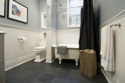 Basement Bathrooms Ideas black slate tile 12x12 in bathroom bathroom ideas
