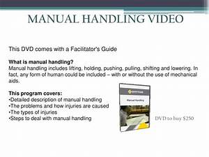 Ppt - Manual Handling Powerpoint Presentation