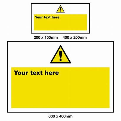 Warning Sign Safety Own Create Signs Custom