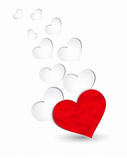 Hearts Clipart Floating Valentine Decoration Transparent Heart