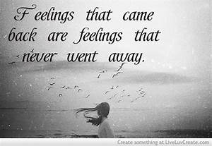 Feeling Quotes.... Love Feeling Quotes