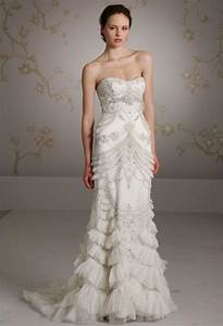dress lazaro wedding gowns 2047164 weddbook With art deco wedding dresses