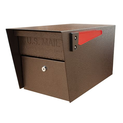 locking mailbox residential usps approved shop mail mail manager 10 75 in w x 11 25 in h metal